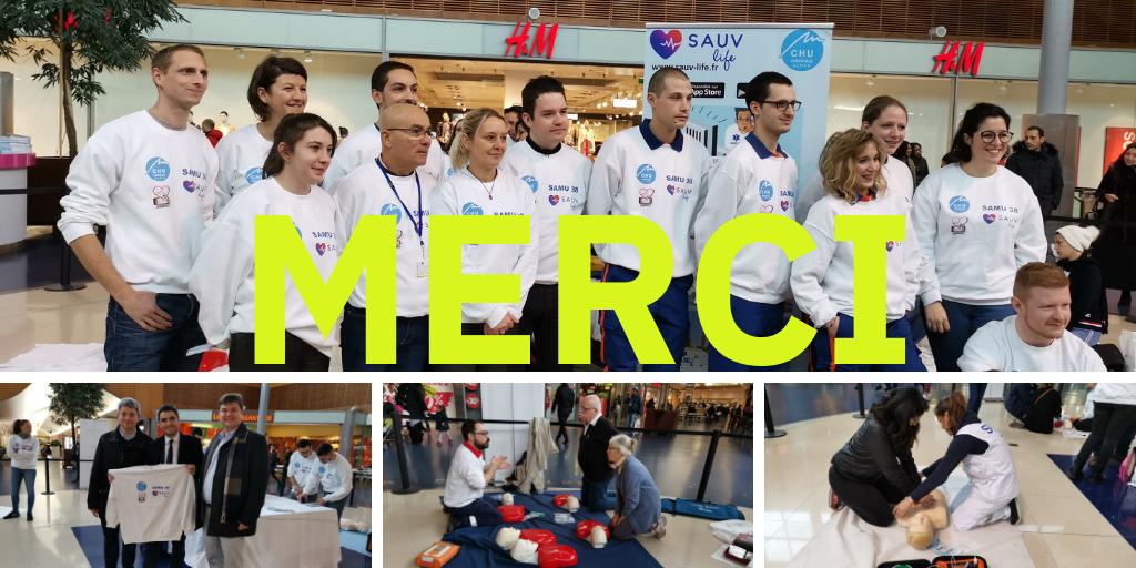 SAUV Life à Grenoble + de 800 personnes formées !