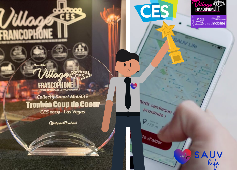 « Sauv Life » reçoit un trophée au CES de Las Vegas